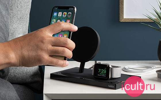 Belkin BOOST UP Special Edition Wireless Charging Dock Black