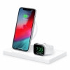 Двойное беспроводное ЗУ Belkin BOOST UP Special Edition Wireless Charging Dock 1A/1USB White белое F8J234ttWHT-APL