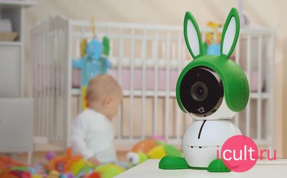 Arlo Baby 1080p HD Monitoring Camera White/Green