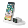 Двойное беспроводное ЗУ Belkin BOOST UP Wireless Charging Dock 1A/1USB White белое F8J235vfWHT