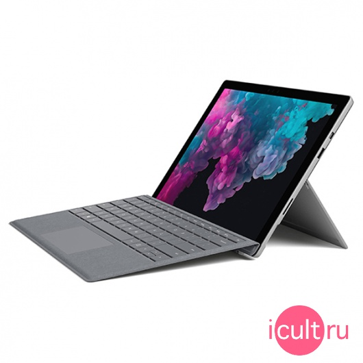 Планшетный компьютер Microsoft Surface Pro 6 With Type Cover i5 8Gb 128Gb Flash Platinum платиновый LJK-00001