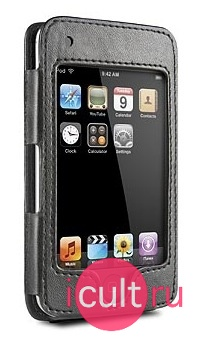 Кожаный чехол DLO HipCase leather Sleeve black для iPod Touch / 2G /3G DLA810002H/10