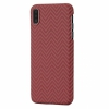 Чехол Pitaka MagCase Red/Orange Herringbone для iPhone XS Max красный/оранжевый KI9007XM
