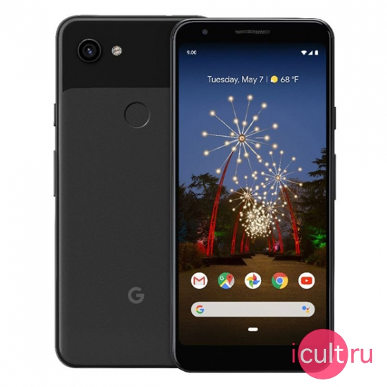 Смартфон Google Pixel 3a 64GB Just Black черный LTE