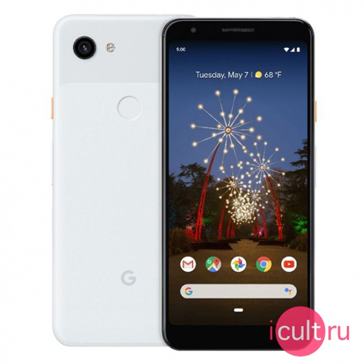 Смартфон Google Pixel 3a 64GB Clearly White белый LTE