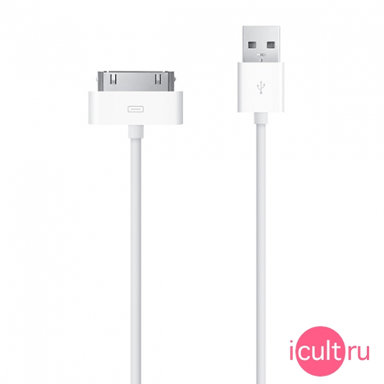 MA591 Провод Apple 30-pin to USB Cable белый 1 метр