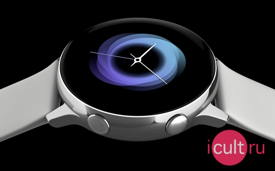 Samsung Galaxy Watch Active серебристый лед