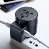СЗУ Baseus Rotation Type Universal Charger 2.4A/2USB Black черное ACCHZ-01