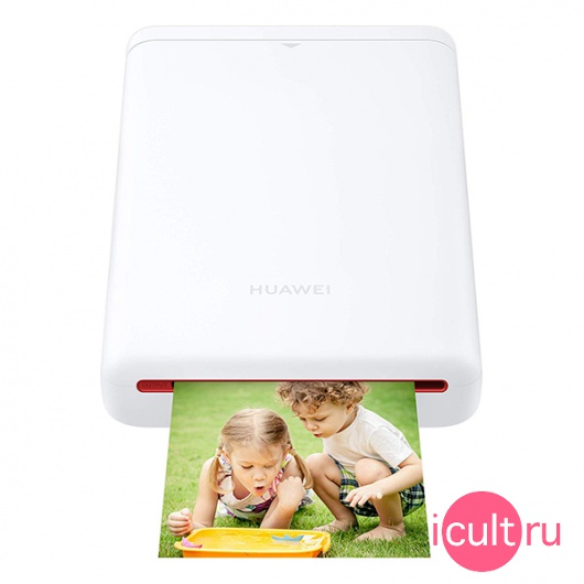 Фотопринтер Huawei CV80 Pocket Photo Printer 2x3 White белый 55030747