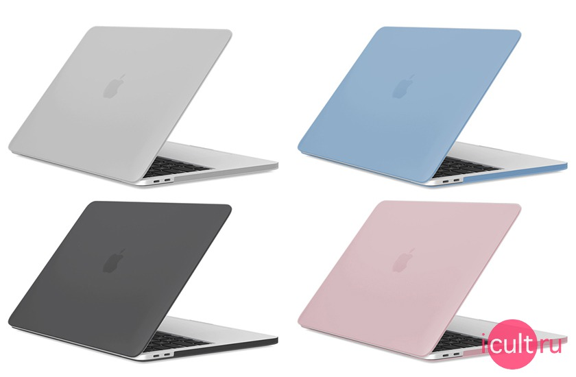 iCult Hard Case Pink для MacBook Pro 13