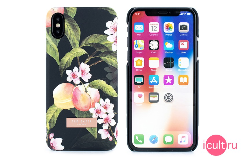 Ted Baker LACET Peach Blossom iPhone X