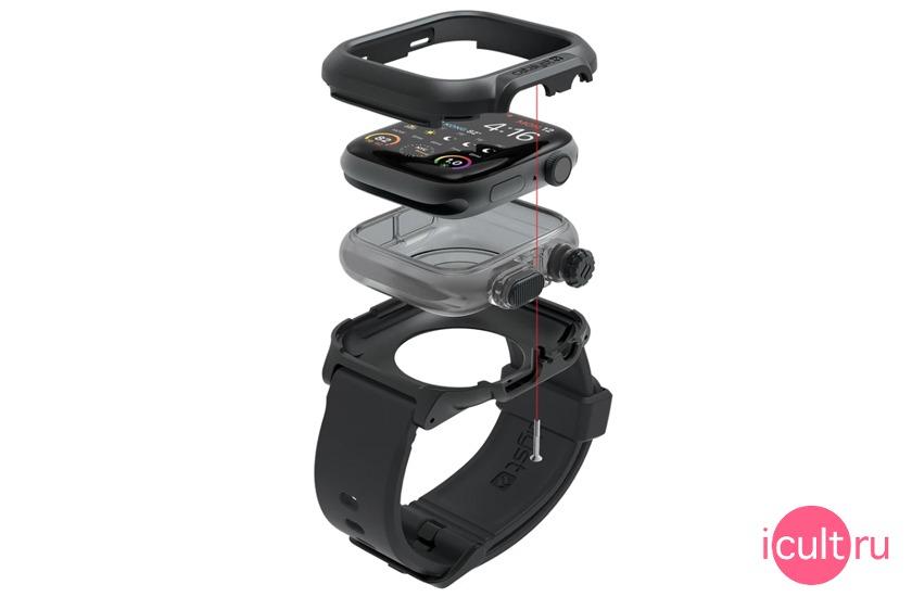 Catalyst Waterproof Case Stealth Black для Apple Watch Series 4 40 мм