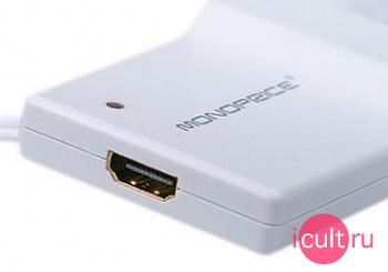 Адаптер Monoprice Mini Displayport and USB Toslink Audio to HDMI