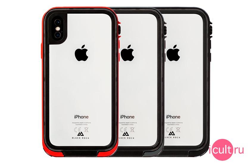 Black Rock 360 Hero Case Red для iPhone X