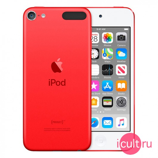Плеер Apple iPod Touch 7 32GB (PRODUCT) Red красный MVHX2