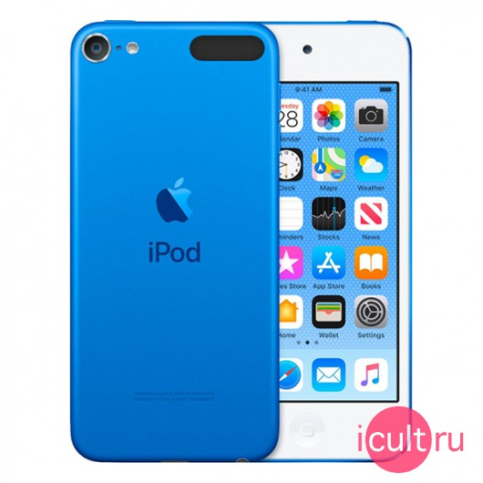 Плеер Apple iPod Touch 7 256GB Blue синий MVJC2