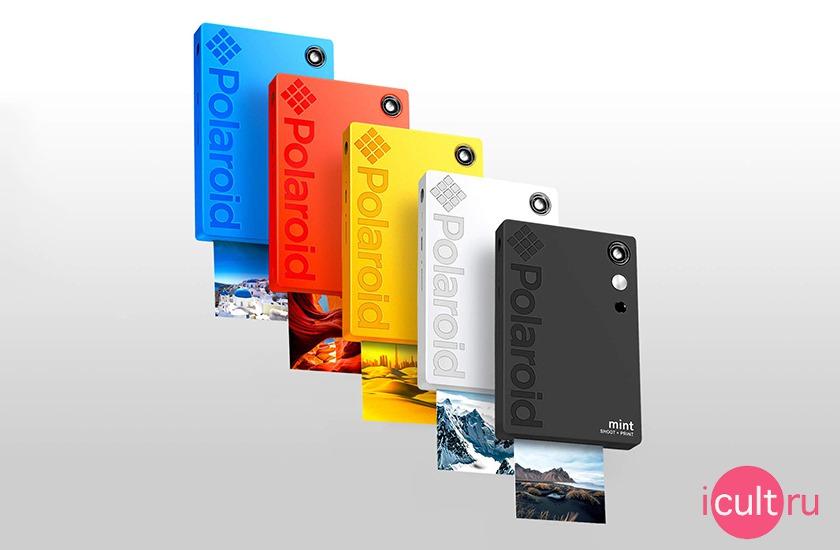 Polaroid Mint 16MP Instant Digital Camera Blue