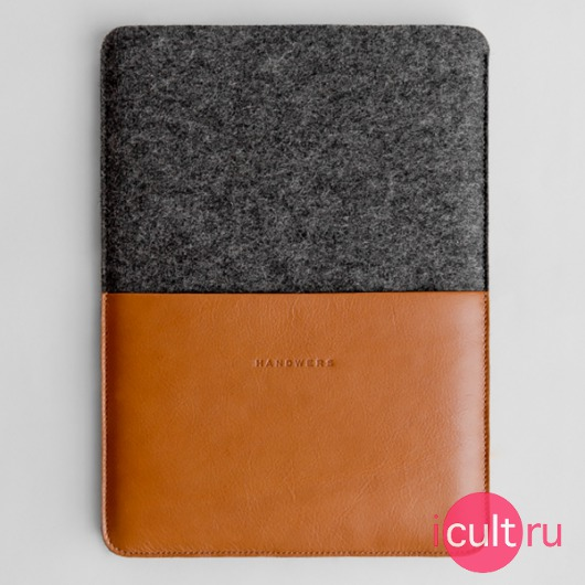 Экологичный чехол Handwers Moraine Brown/Dark для MacBook