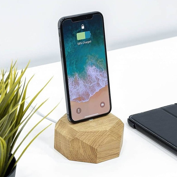 Док-станция Oakywood iPhone Dock Lightning Oak дуб