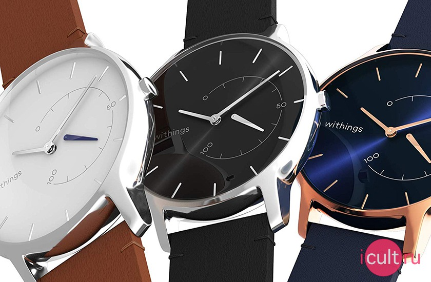 Withings Move Timeless Chic Black/Silver