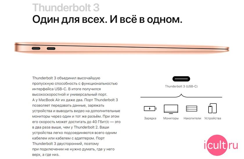 Apple MacBook Air 13 2019 купить дешевле