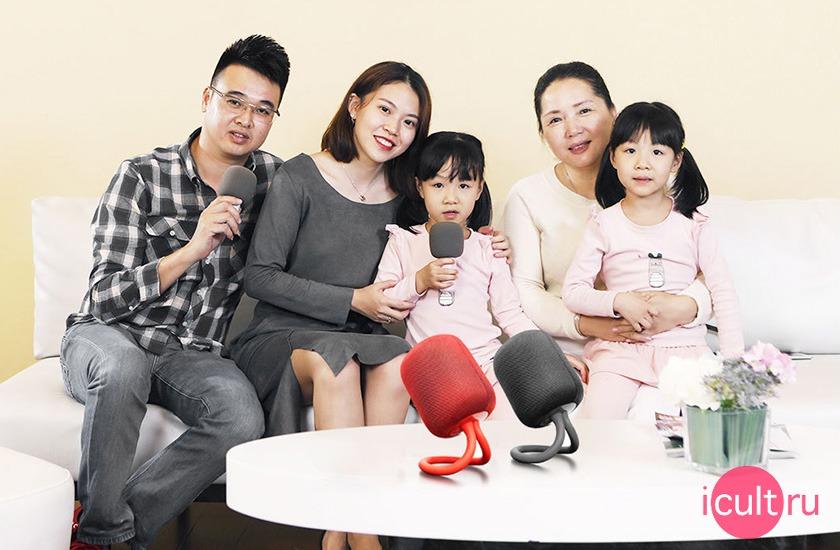 Набор для караоке Xiaomi UL Life iK8 Karaoke Speaker Red