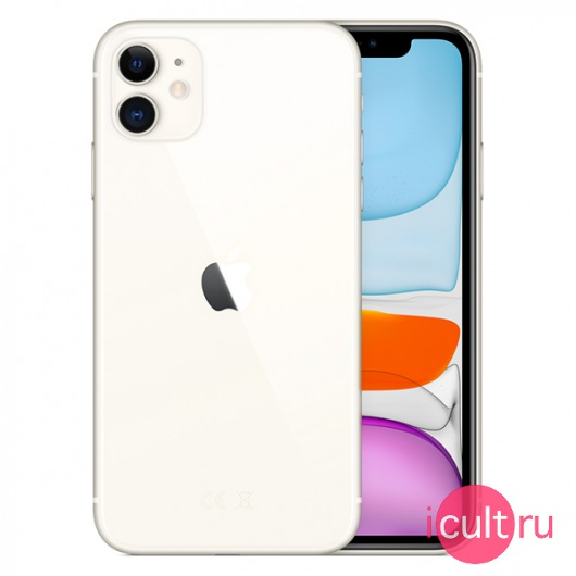 Смартфон Apple iPhone 11 256GB White белый MWM82RU/A