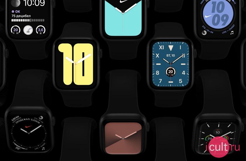 Новые Apple Watch Series 5 Nike