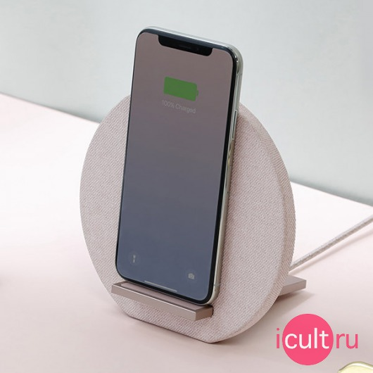 Беспроводное ЗУ Native Union Dock Wireless Charger 10W 2A Rose розовое DOCK-WL-FB-ROSE