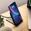 Беспроводное ЗУ Belkin BOOST UP Wireless Charging Stand 2A Black черное F7U070btBLK