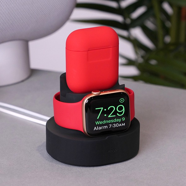 Док-станция Elago Mini Charging Hub Black для для iPhone/Apple Watch/AirPods черная ST-DUO-BK