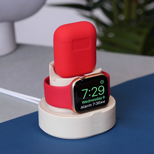 Док-станция Elago Mini Charging Hub Classic White для для iPhone/Apple Watch/AirPods белая ST-DUO-CWH