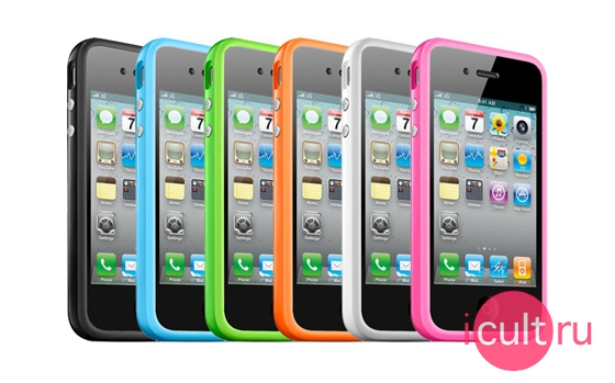 Apple iPhone 4 Bumper Blue
