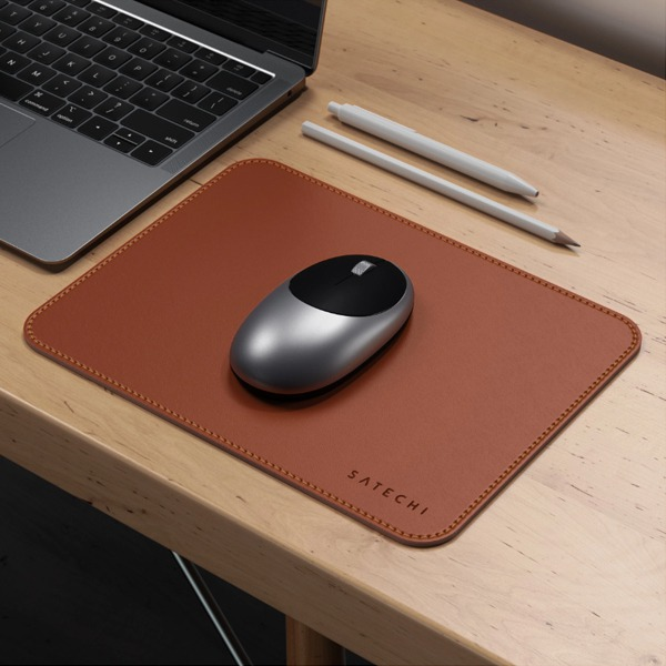 Коврик Satechi Eco-Leather Mouse Pad Brown коричневый ST-ELMPN