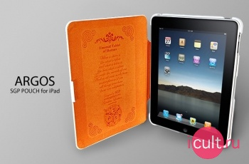 Кожаный чехол SGP Leather Case Argos for Apple iPad
