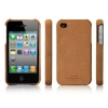 ����� SGP Case Genuine Leather Grip - Vintage Edition Brown for Apple iPhone 4 ������� SGP06836S