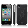 ����� SGP Genuine Leather Grip infinity Black for Apple iPhone 4/4S ������ SGP06900/SGP06900S
