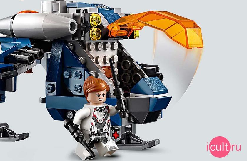 LEGO Marvel Super Heroes 76144 Мстители: Спасение Халка на вертолёте