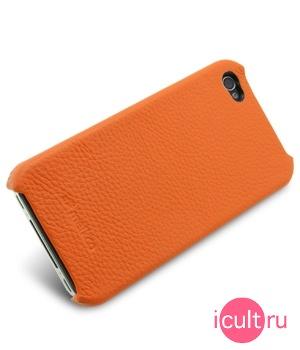 чехол Melkco iPhone 4 orange