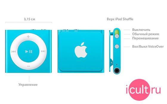 iPod Shuffle характеристики