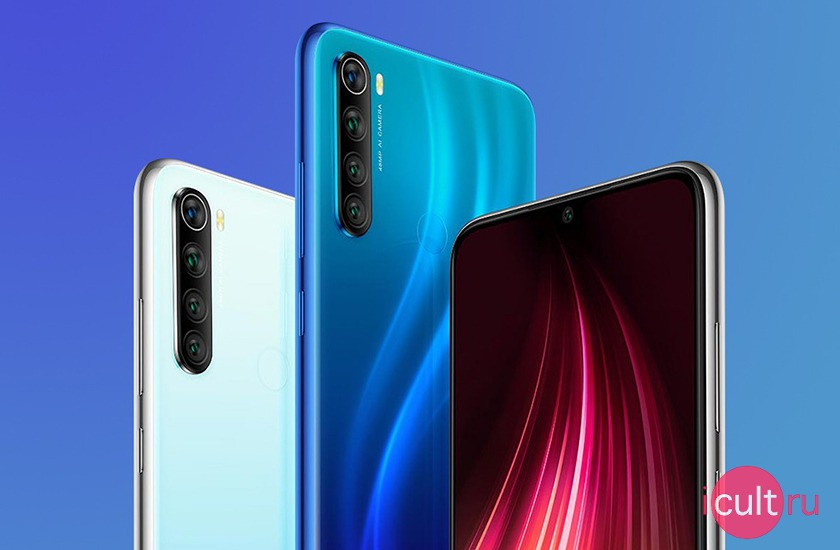 Xiaomi Redmi Note 8 4/128GB Neptune Blue