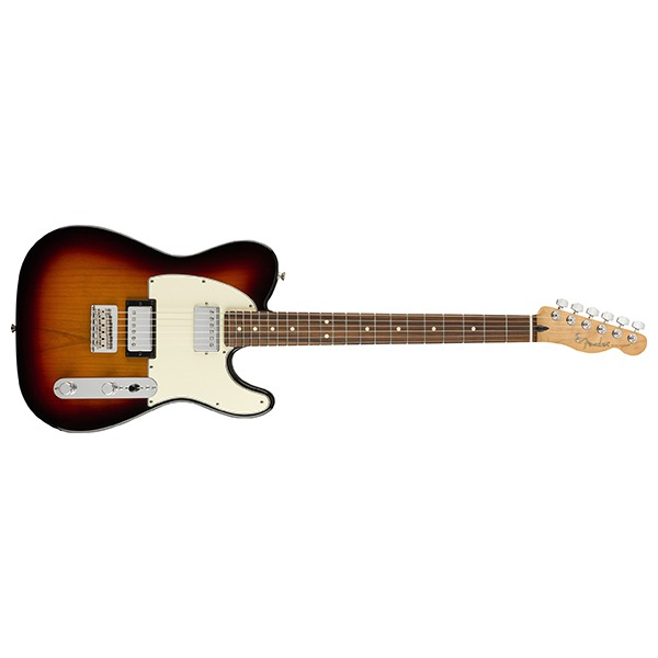 Электрогитара Fender Player Telecaster HH 3-Color Sunburst Pau Ferro коричневая