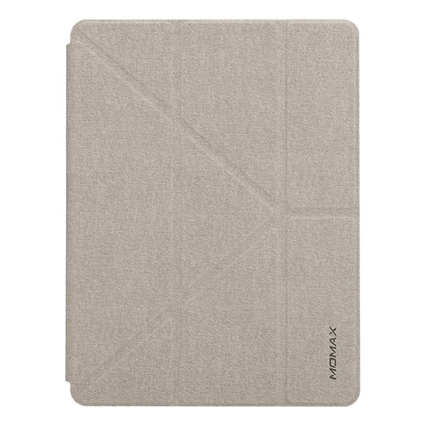 Чехол-книжка Momax Flip Cover Space Grey для iPad Air 2019 серый