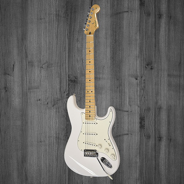 Электрогитара Fender Player Stratocaster Polar White Maple белая
