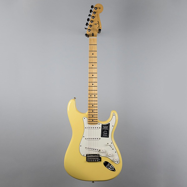 Электрогитара Fender Player Stratocaster Buttercream Maple кремовая