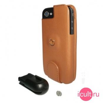 Кожаный чехол Piel Frama Imagnum Case для iPhone 4
