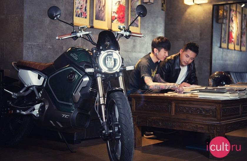 Super Soco TC Cafe Green