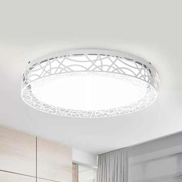 Умная лампа Xiaomi Yeelight YILAI Hollow Design LED Smart Ceiling Light 430mm 34W White белая YXD060W0CN