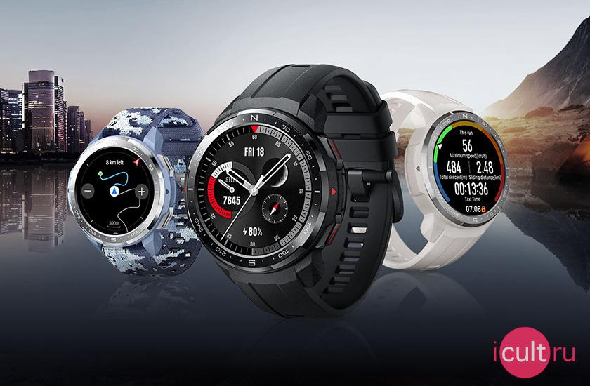 HONOR Watch GS Pro (silicone strap) Camo Blue