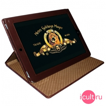 Кожаный чехол Piel Frama iPad Cinema Case Crocodile Tan (коричневый) для iPad